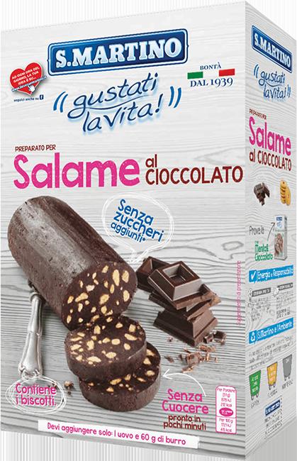 Salame al Cioccolato Senza Zucchero