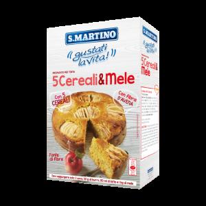 Torta ai 5 Cereali e Mele