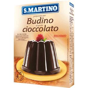 Budino Zuccherato Cioccolato