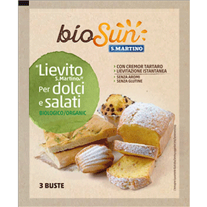 Lievito S.Martino Biologico per dolci e salati
