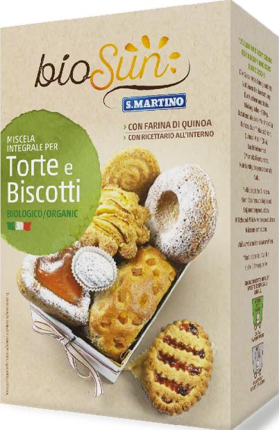 Miscela Integrale Biologica per Torte e Biscotti
