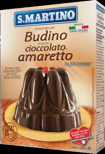 Budino Cioccolato Amaretto