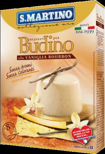 Budino Vaniglia Bourbon