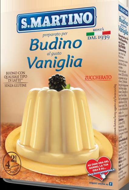 Budino Zuccherato Vaniglia