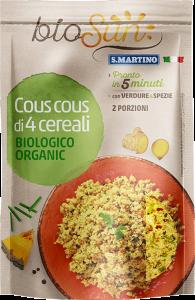 Cous Cous di 4 Cereali Biologico