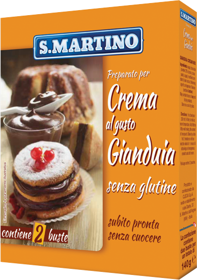 Crema al gusto Gianduia