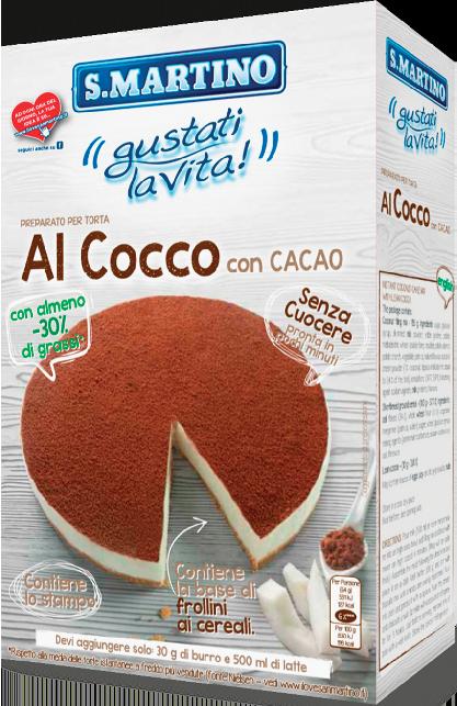 Torta al Cocco con Cacao