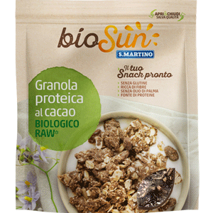 Granola proteica al Cacao Biologica