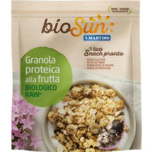 Granola proteica alla Frutta Biologica