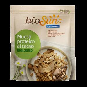 Muesli proteico al Cacao Biologico